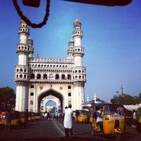 Photo taken at Charminar by Nisha J. on 12/17/2012