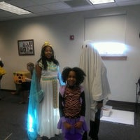 Photo taken at Indianapolis Marion County Public Library - Franklin Road Branch by Amy M. on 10/27/2012
