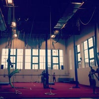 Photo taken at Bumbershoot Aerial Arts Studio by caroline r. on 1/12/2013