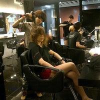 "Photo taken at ""M"" salon by kimarie group, kenananga wholesale city by Roy T. on 10/23/2012"