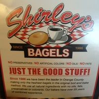 Photo taken at Shirley's Bagels by Jennifer D. on 2/17/2013