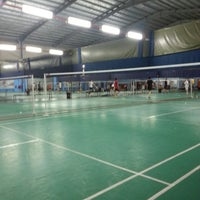 Photo taken at New Vision Badminton Academy by àLiff à. on 5/25/2013