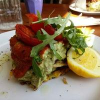 Photo taken at Pilgrims Vegetarian Cafe by Andrew W. on 10/17/2015
