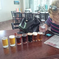 Photo taken at Microbrasserie Coaticook by Jean-Francois P. on 6/15/2014