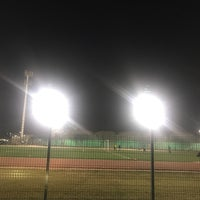 Photo taken at Third Street Football Field by Maram A. on 2/11/2018
