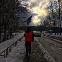 Photo taken at Остановка «Литовский бульвар» by Alex D. on 11/16/2016
