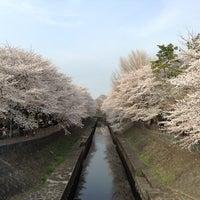 Photo taken at 尾崎橋 by Kazuya N. on 3/24/2013