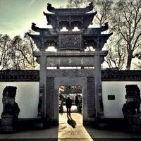 Das Foto wurde bei Chinesischer Garten von Eray O. am 3/20/2015 aufgenommen