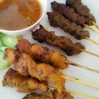 Photo taken at Pak Abu Satay Club by Wainey O. on 11/13/2012