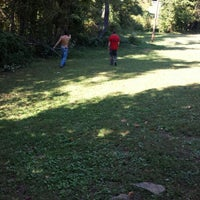 Photo taken at Seviren Lang Disc Golf Course by Johnny B on 9/27/2013