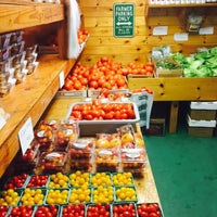 Photo taken at Original Fruit King Farm Stand by Katie F. on 6/21/2015