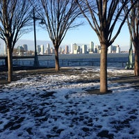 Photo taken at Hudson River Park by Leigh F. on 2/12/2013