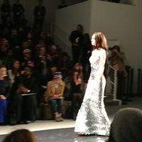 Photo taken at Mercedes-Benz Fashion Week by Leigh F. on 2/11/2013