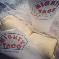 Photo taken at Mighty Taco by Leigh F. on 1/17/2016
