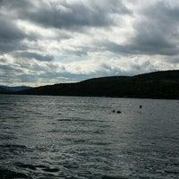 Photo taken at White Rock on Canandaigua Lake by Susan B. on 10/5/2014