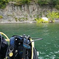 Photo taken at White Rock on Canandaigua Lake by Susan B. on 7/26/2014