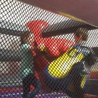 Photo taken at Bounceu Fishers by Melissa B. on 4/30/2016