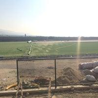 Photo taken at Buharkent Stadı by Sergen P. on 10/10/2015