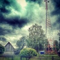 Photo taken at Трасса А114 «Вологда — Новая Ладога» by Мария Ш. on 7/4/2014