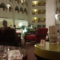 Photo taken at Riu Palace Oceana***** Lobby Bar by Hamed E. on 8/19/2013