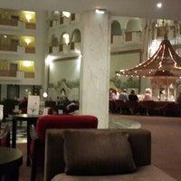 Photo taken at Riu Palace Oceana***** Lobby Bar by Hamed E. on 8/18/2013