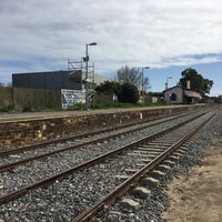Photo taken at Bowden Railway Station by Mick M. on 8/11/2017