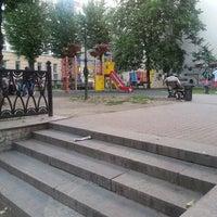 Photo taken at Дмитровский сквер (Эльфийский садик) by Andrei P. on 7/7/2014