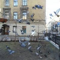Photo taken at Дмитровский сквер (Эльфийский садик) by Andrei P. on 3/12/2015