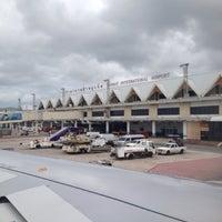 Photo taken at Phuket International Airport (HKT) by Tao R. on 5/21/2013