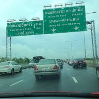 """Photo taken at Chalong Rat Expressway by * :MeLonMint"""" on 7/30/2013"""
