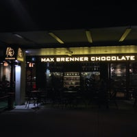 Photo taken at Max Brenner Chocolate Bar by Vin U. on 1/7/2015
