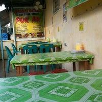 "Photo taken at Ikan Bakar ""Fuk An"" ( Brigjend Zein Hamid-Gang Baru ) by Meriwani Chiu 邱. on 6/28/2014"