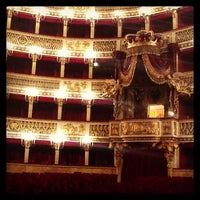 Photo taken at Teatro San Carlo by Stefano C. on 12/29/2012