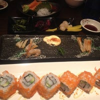 Photo taken at En Japanese Dining Bar (Mohammed Sultan) by Aaron B. on 9/15/2013