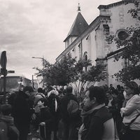 Photo taken at Arrêt Pessac Centre [4,23,24,35,42,44,48,54,87] by American Mom in Bordeaux on 5/10/2016