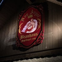 Photo taken at Hop Angel Brauhaus by John S. on 12/25/2014