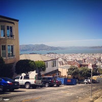 Photo taken at Fillmore Stairs by Matthew L. on 4/15/2013
