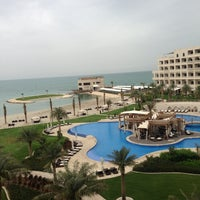 Photo taken at Sofitel Bahrain Zallaq Thalassa Sea & Spa by Nawaf A. on 3/20/2013