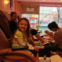 Photo taken at Cupid Nails & Spa by Tanya K. on 12/22/2012