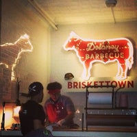 Photo taken at Delaney Barbecue: BrisketTown by Steve M. on 12/29/2012