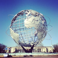 Photo taken at The Unisphere by Steve M. on 3/23/2013