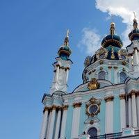 Снимок сделан в Андреевская церковь пользователем Андріївська церква 6/18/2014
