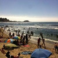 Photo taken at Playa Los Tubos by Rodrigo B. on 2/20/2013