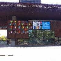 Photo taken at Centro Cultural Gabriela Mistral by Rodrigo B. on 11/11/2012