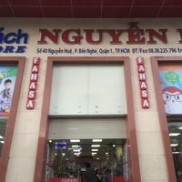 Photo taken at Fahasa Nguyễn Huệ Bookstore by cyan 2. on 5/29/2016