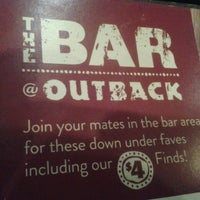 Photo taken at Outback Steakhouse by Bonnie K. on 7/7/2014