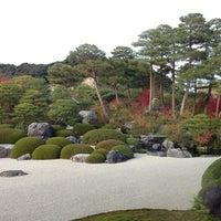 Photo taken at 足立美術館 by Masahiro I. on 11/16/2014