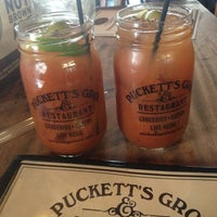Photo taken at Puckett's Grocery & Restaurant by Ashley on 1/14/2013