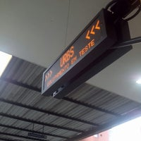 Photo taken at Terminal Guadalupe by fernando b. on 1/18/2013