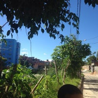 Photo taken at Barraca V.I.P Bahia Beach by Ramon T. on 8/9/2014